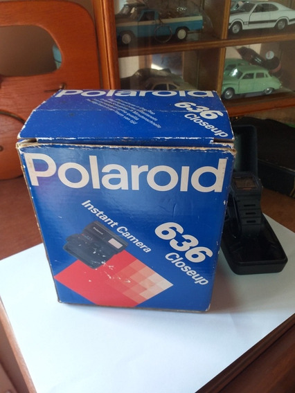 Maquina Fotográfica Polaroid Camera Antiga Polaroid 636