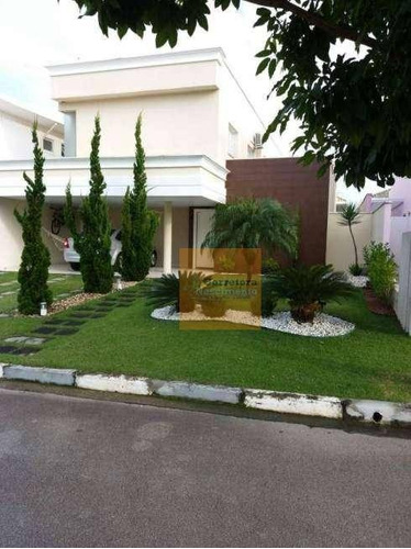 Sobrado Com 4 Dormitórios À Venda, 250 M² Por R$ 1.200.000,00 - Condomínio Sunset Garden - Jacareí/sp - So0112