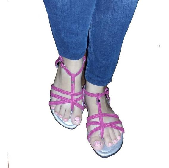 Sandalias Para Niñas Y Damas Bajitas Casuales