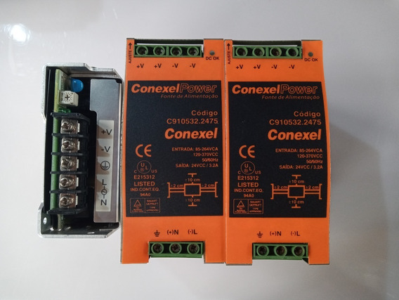 Fonte Chaveada Conexel 24v 3,2a C910532.2475
