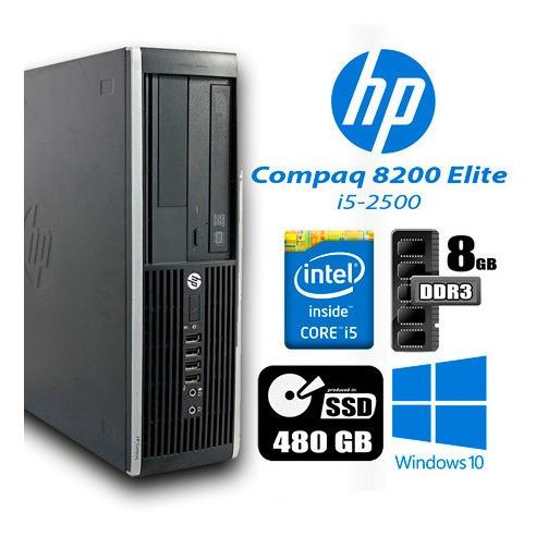 Imagem 1 de 3 de Hp 8200 Elite I5 8gb Ram 480gb Sdd Monitor 18 Teclado  Mouse