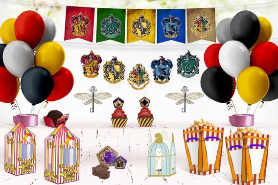 Decoración Harry Potter Imprimible