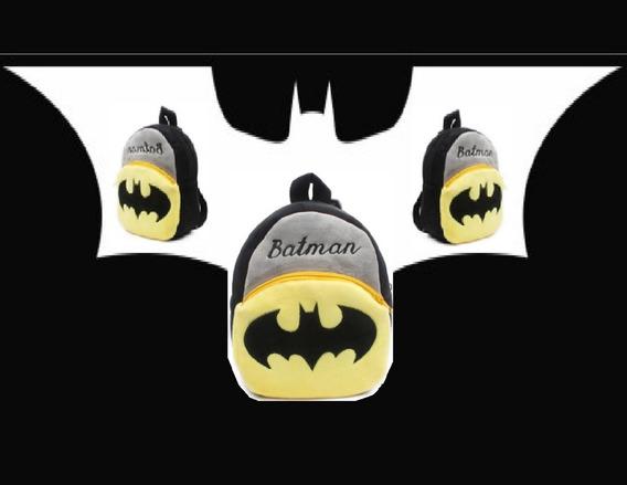Bolsinha Do Batman Escolar Infantil Crianças Fofura