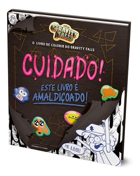 Livro Colorir Gravity Falls Envio Rápido Capa Dura
