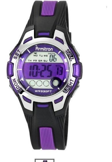 **armitron Reloj Deportivo Con Cronógrafo Digital