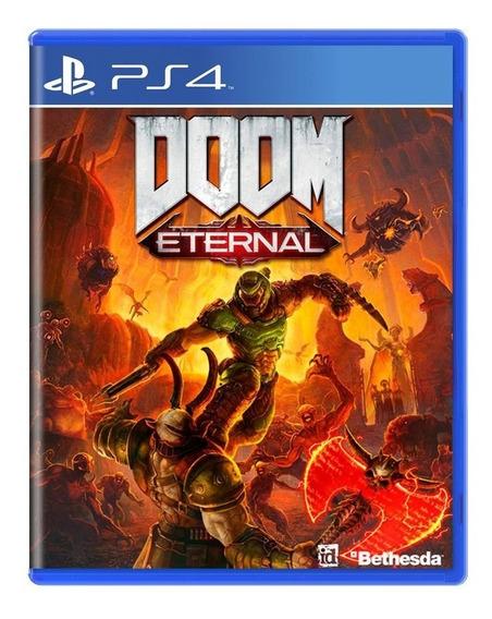 Doom Eternal Ps4 Mídia Física Novo Lacrado