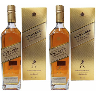 Whisky Johnny Walker Gold Oferta X 2 Botellas Escoces