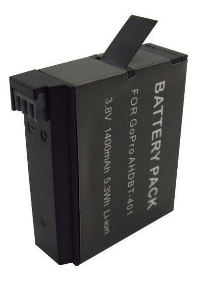 Bateria Gopro Hero 4 Hero4 (ahdbt-401) 1400mah