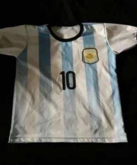 Remera Argentina Niños Talle 4