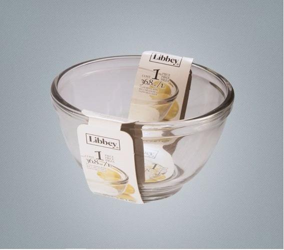 Ensaladera, Bowl De Vidrio Libbey 1 Litro