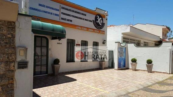 Casa Com 3 Dormitórios À Venda, 264 M² Por R$ 750.000 - Bosque - Campinas/sp - Ca1520