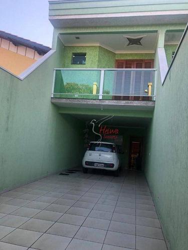 Sobrado Com 2 Dormitórios À Venda, 151 M² Por R$ 600.000,00 - Conjunto Residencial Vista Verde - São Paulo/sp - So0903