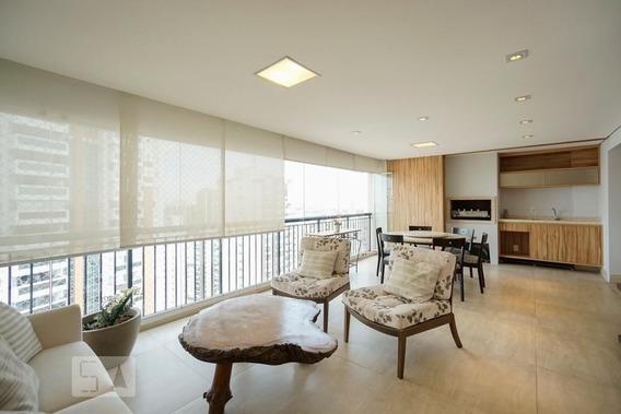 Apartamento No 23º Andar Mobiliado Com 3 Dormitórios E 4 Garagens - Id: 892985472 - 285472