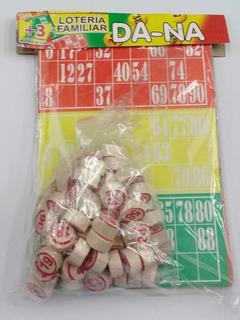 Juego De Loteria Familiar X 24 Cartones