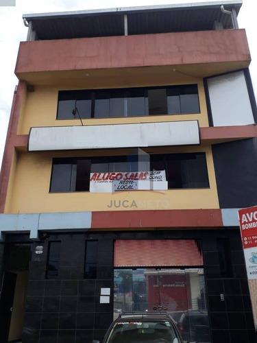 Sala Comercial Para Locação, Próximo Ao Parque Ipiranguinha - Vila Alzira - Santo André/sp - Sa0121
