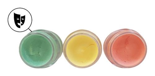 Imagen 1 de 2 de Corrector Neutralizante Maquillaje Titi 5gr Verde Palido