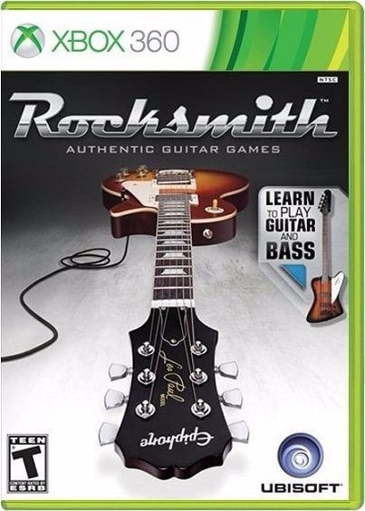 Jogo Rocksmith Xbox360 Ntsc Midia Fisica Original