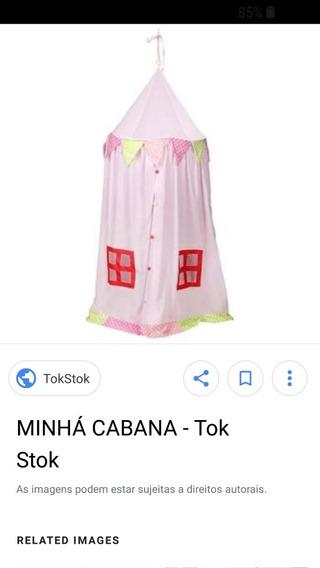 Cabana Tenda Tok Stok Infantil Rosa