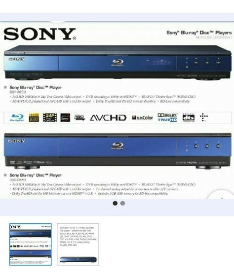 Sony Blue Ray Bdp S350