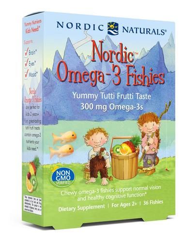 Omega 3 Nórdic Natural Fishies L A $11 - L a $11