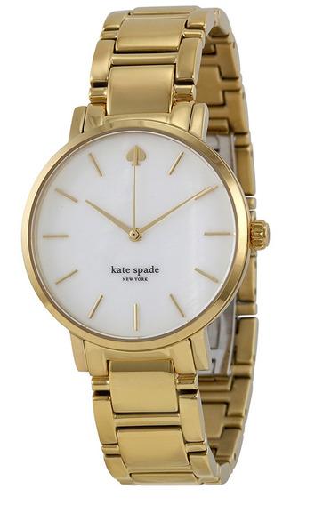 Reloj Kate Spade Gramercy Acero Dorado Mujer 1yru0002