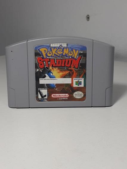 Pokemon Stadium Nintendo 64 Nacional Original