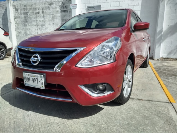 Versa Advance Rojo Burdeos 2015