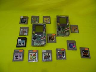 Consola Gameboy Tabique Con Frente Transparente 1 Juego