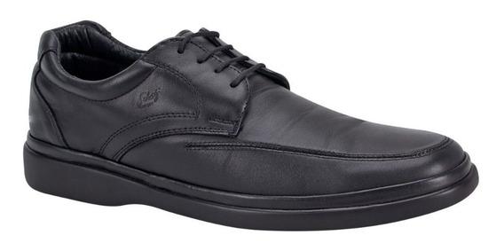 Zapato Cómodo Schatz Comfort 1417 Id 85288 Negro Hombre