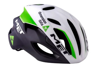 Casco De Bicicleta Ruta - Met Rivale - Dimension Data Team