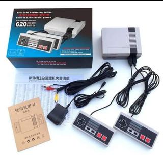 Consola Nes Retro Con 620 Juegos Clásicos