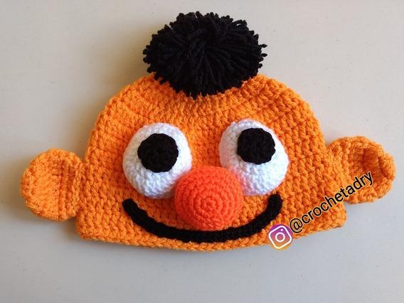 Gorro Plaza Sésamo Crochet