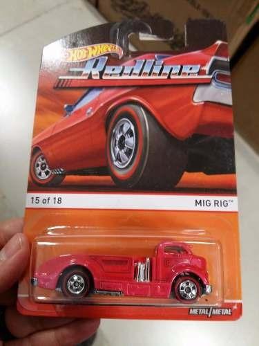 Hot Wheels - Redline - Mig Rig - Rosa - 1:64