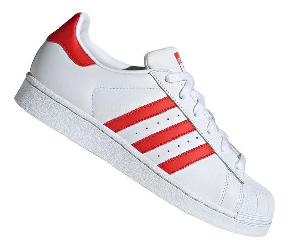 Tênis adidas Superstar Originals Gallery Vermelho Cm8413