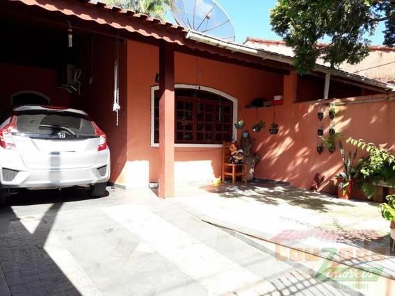 Casa Para Venda Em Peruíbe, Jardim Peruibe, 3 Dormitórios, 1 Suíte, 1 Banheiro, 2 Vagas - 2396