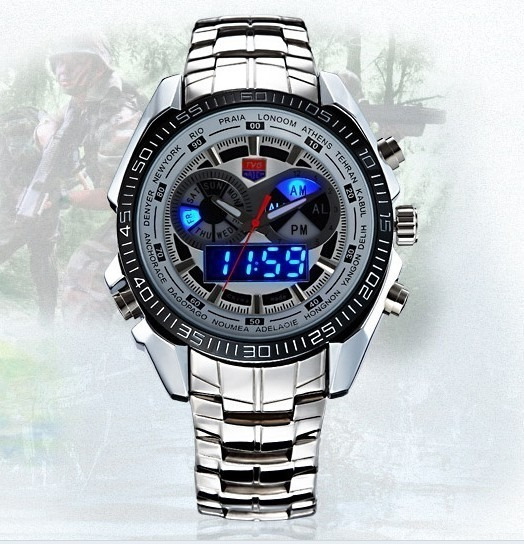Relógio De Luxo/fashion Tvg Seals Elite Original Na Caixa!