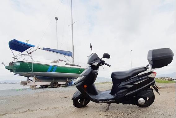 Burgman Moto Automática!