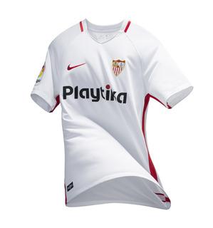Camisa Sevilla-esp Home 18/19 Nova Pronta Entrega