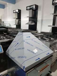 Campana Tst Gastronomica Vacia Acero 90 X 70 Cm Con Fondo