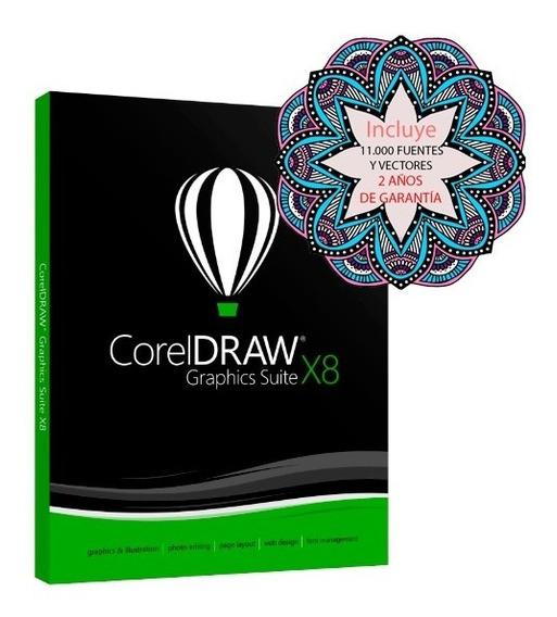 Corel Draw X8 2019 Full - Envio Gratis Inmediato