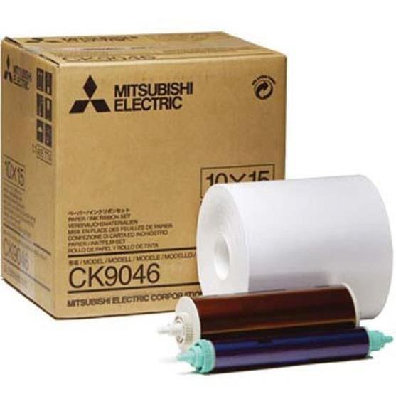 Kit Impresión Mitsubishi Ck-9046 10x15 9800dw,9550dw