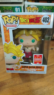 Funko Pop Broly #402 Dragon Ball Z