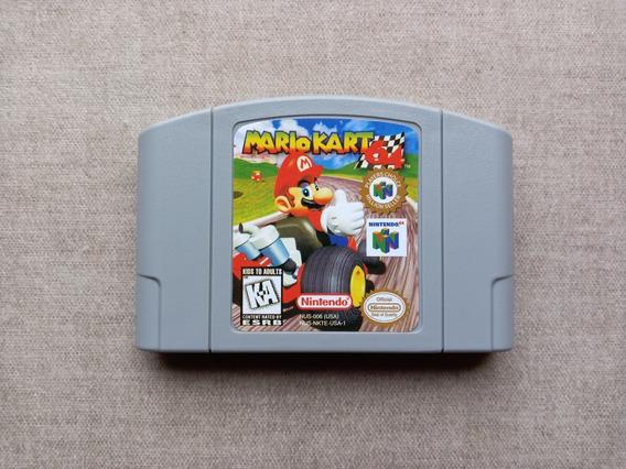 Cartucho Fita N64 Mario Kart 64 Nintendo 64