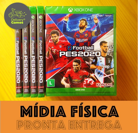 Efootball Pes 2020 Pro Evolution Soccer 20 Lacrado Xbox One