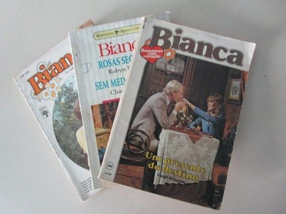 3 Livros Bianca - Romances