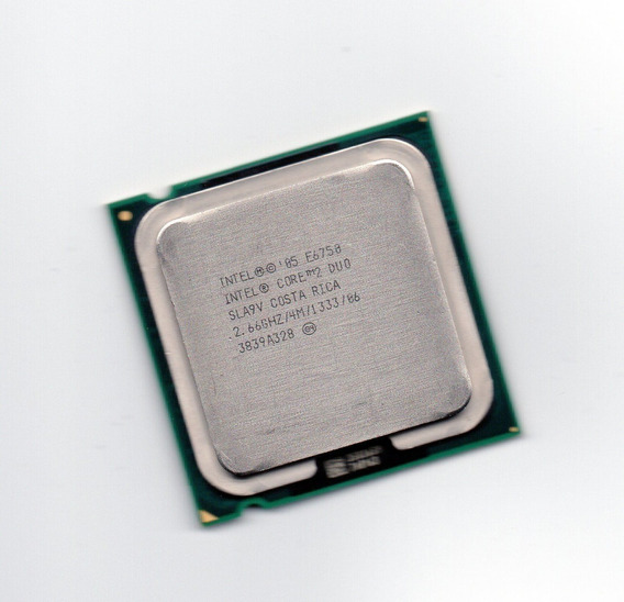 Processador Intel Core 2 Duo E6750 2.66ghz 1333 4mb + Frete