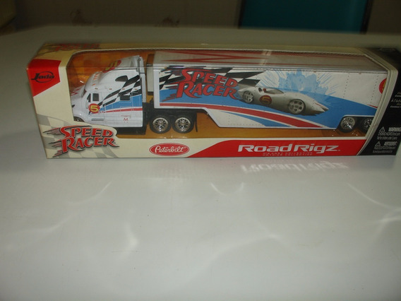 = Speed Racer 164 Jada Caminhão Peterbilt Mach 5 Road Rigz F