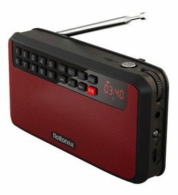 Rádio Rolton T-60 Fm Stéreo Mp3 Maw Bateria Recarregável