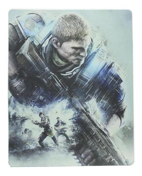 Gears Of War 4 Steelcase Xbox One Mídia Física