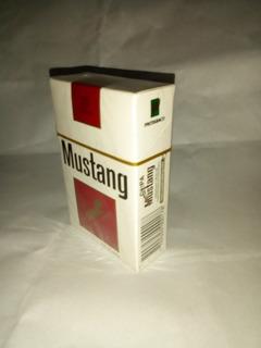Cigarrilos Mustang, Solo Para Coleccion.. Cajetilla Antigua